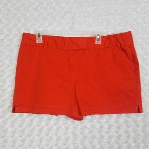 LOFT Womens Size 14 Shorts Orange